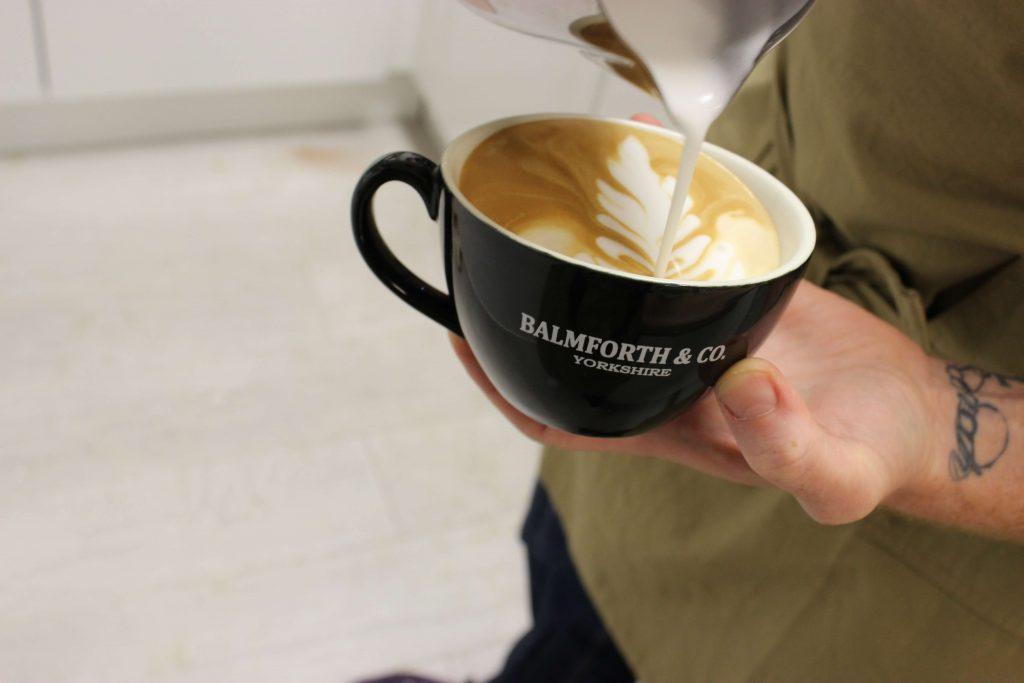 becoming a barista - latte art