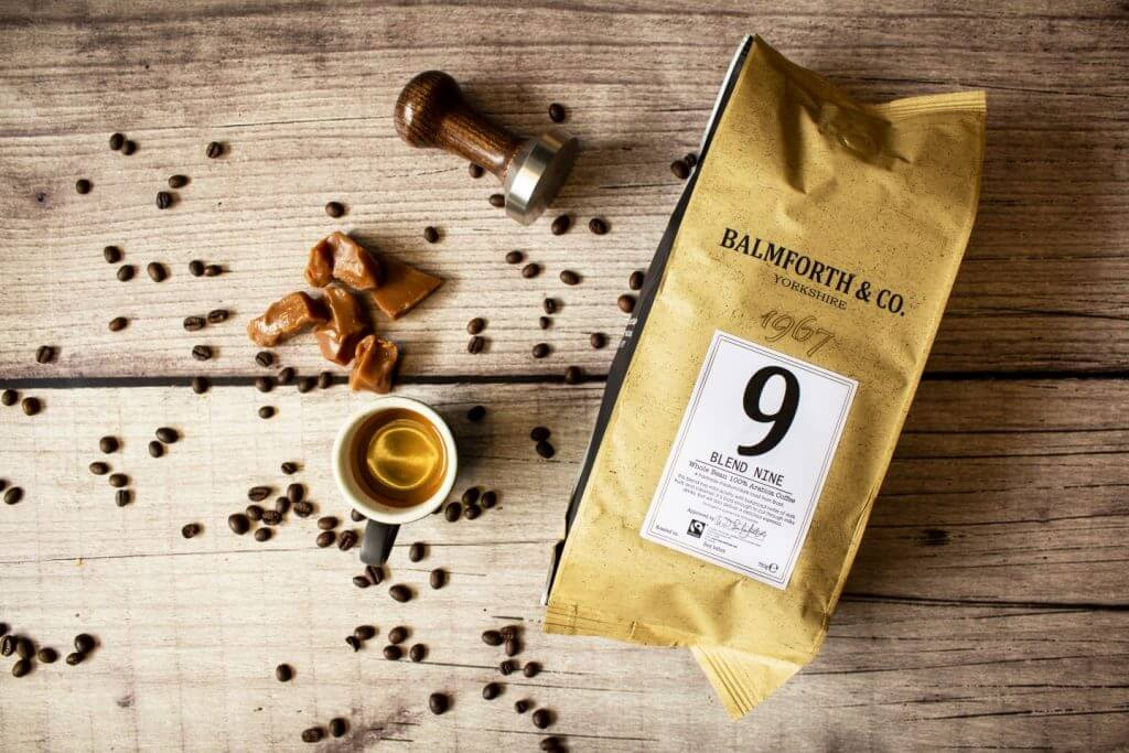 blend 9 - fairtrade coffee