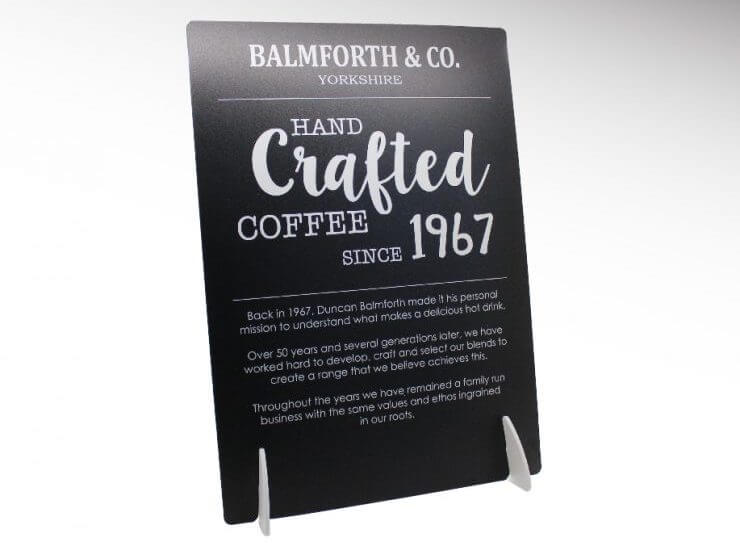 balmforth & co counter display