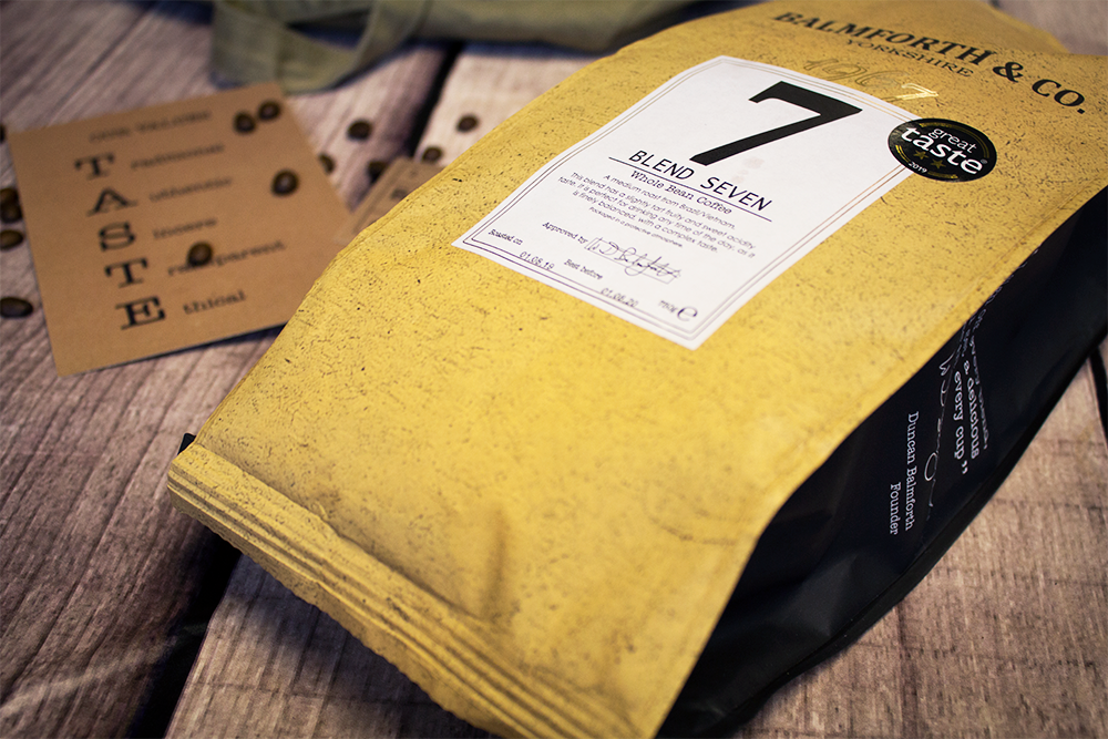 blend 7 coffee beans balmforth & Co