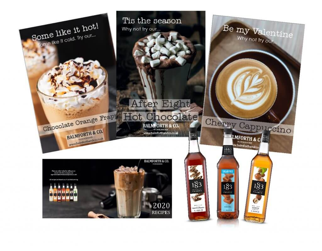 coffee offers - syrup bundle